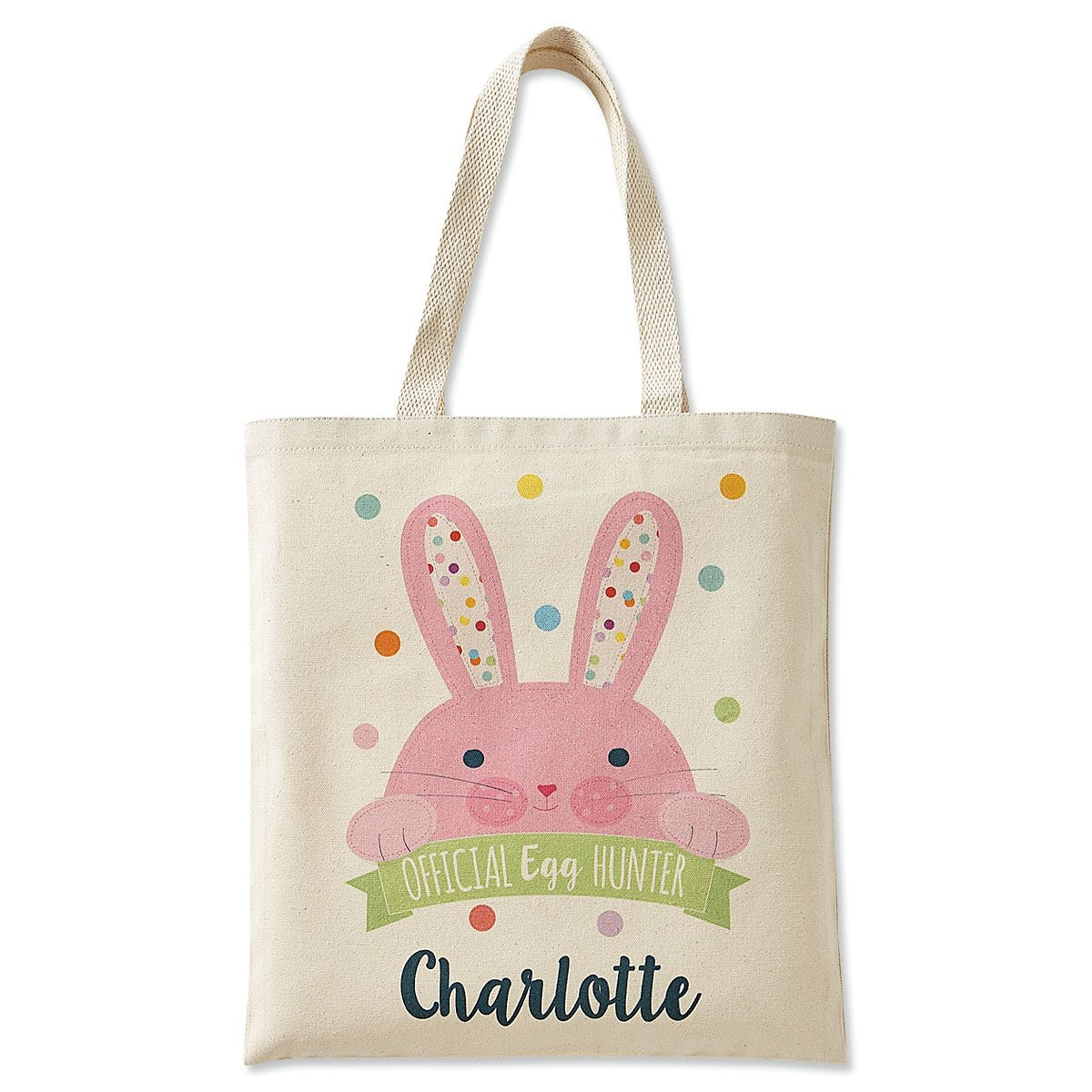 Personalized Egg-Hunter Easter Totes