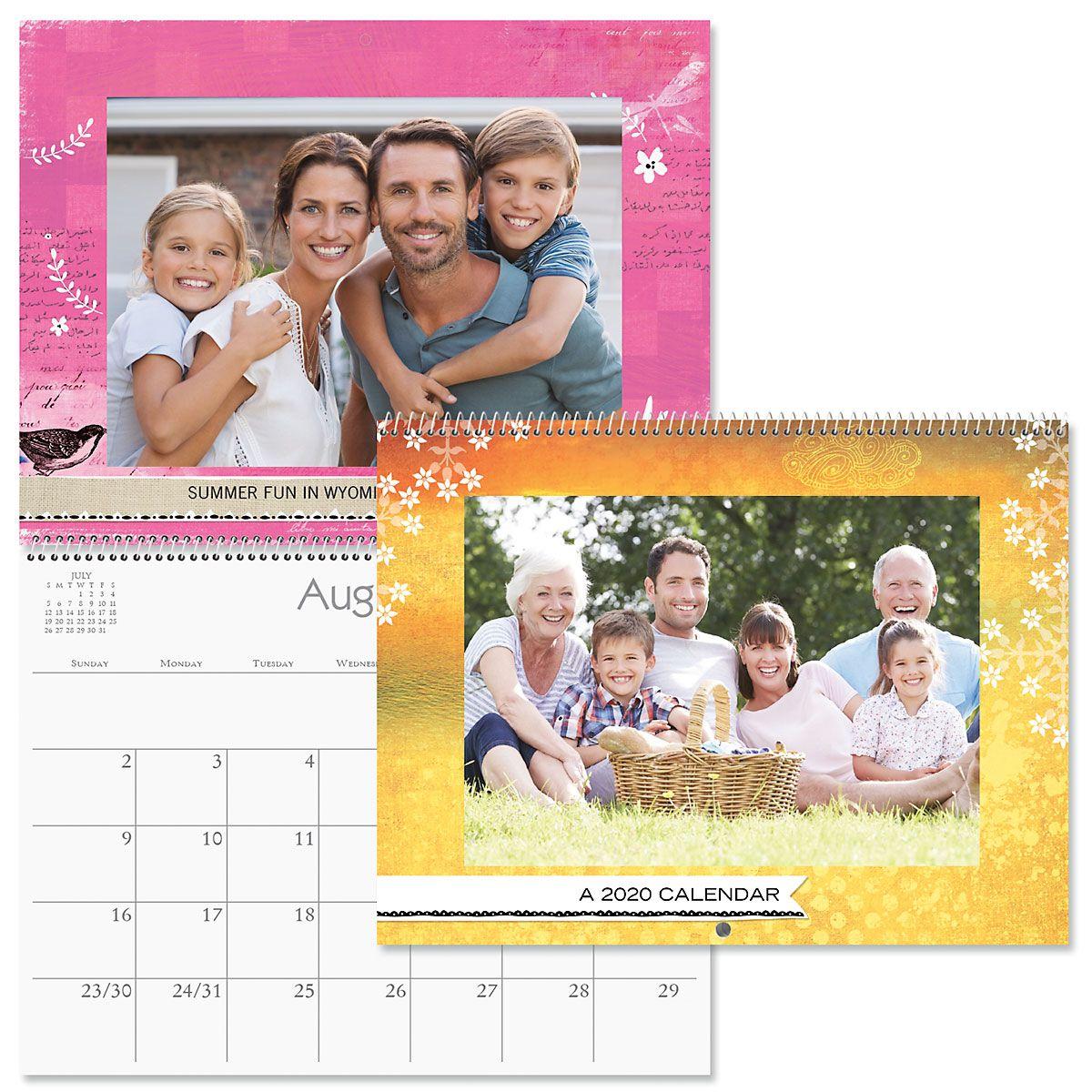 2020 Textures Photo Calendar
