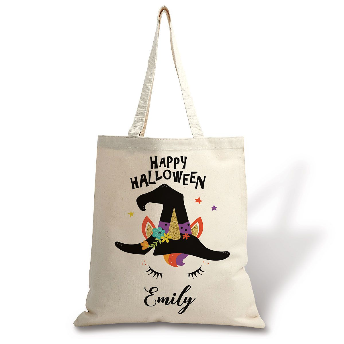 Personalized Kids' Halloween Unicorn Tote