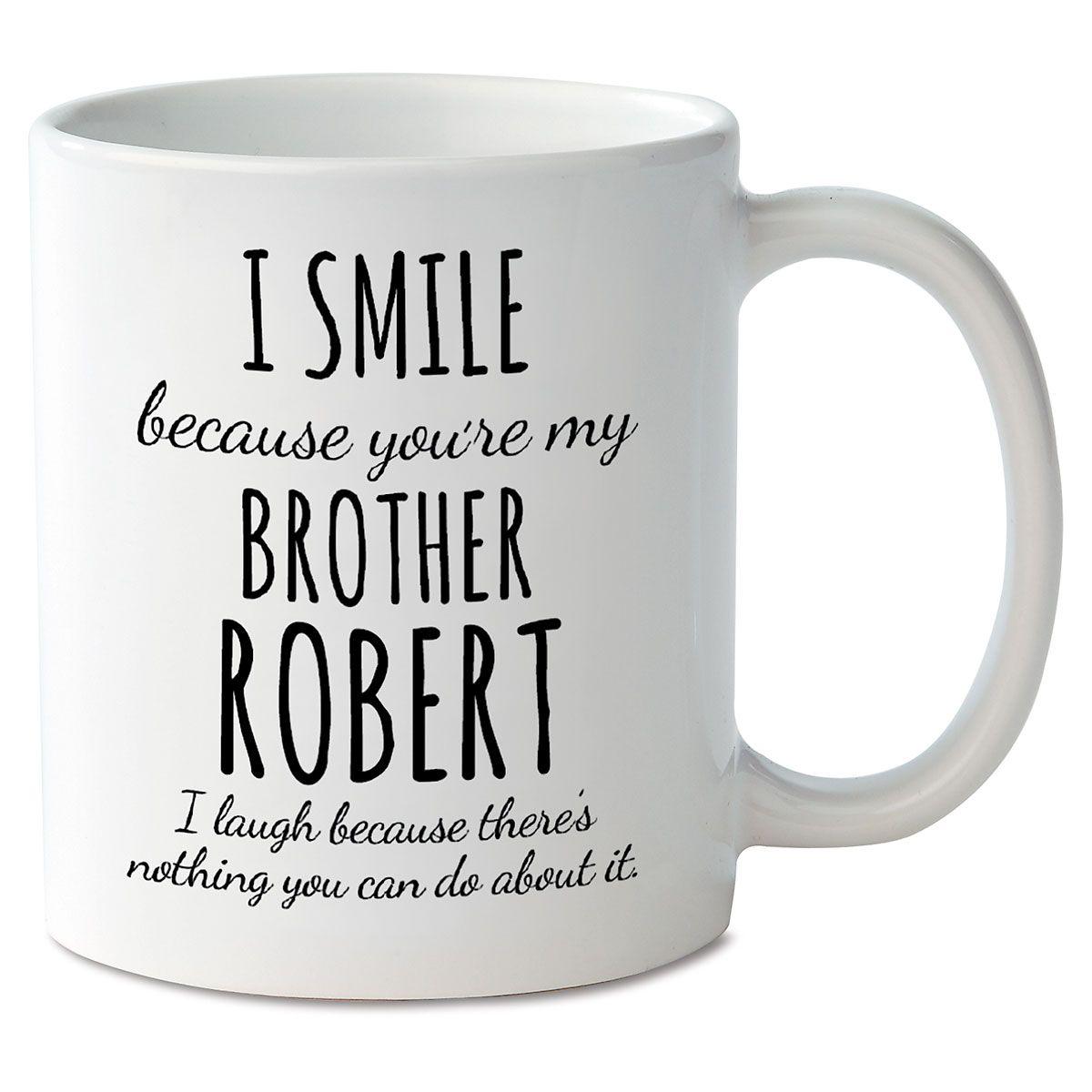 Smile Brother Mug