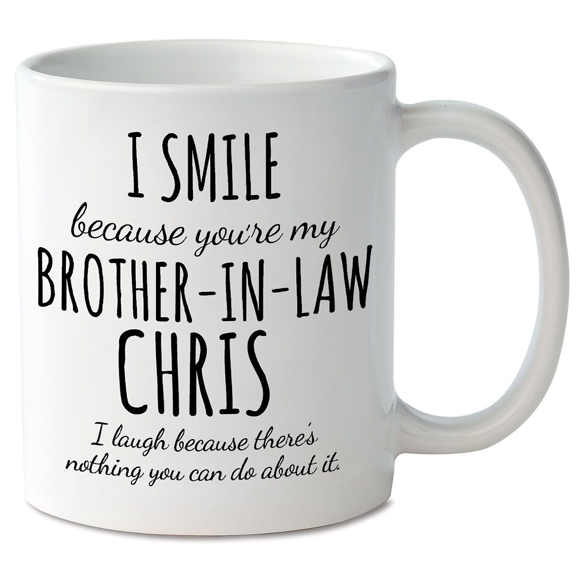 Smile Brother-In-Law Mug