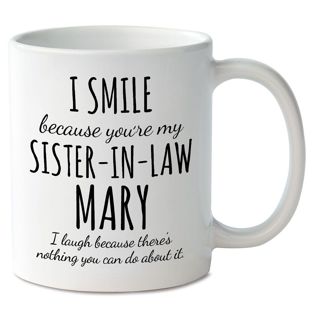 Smile Sister-In-Law Mug