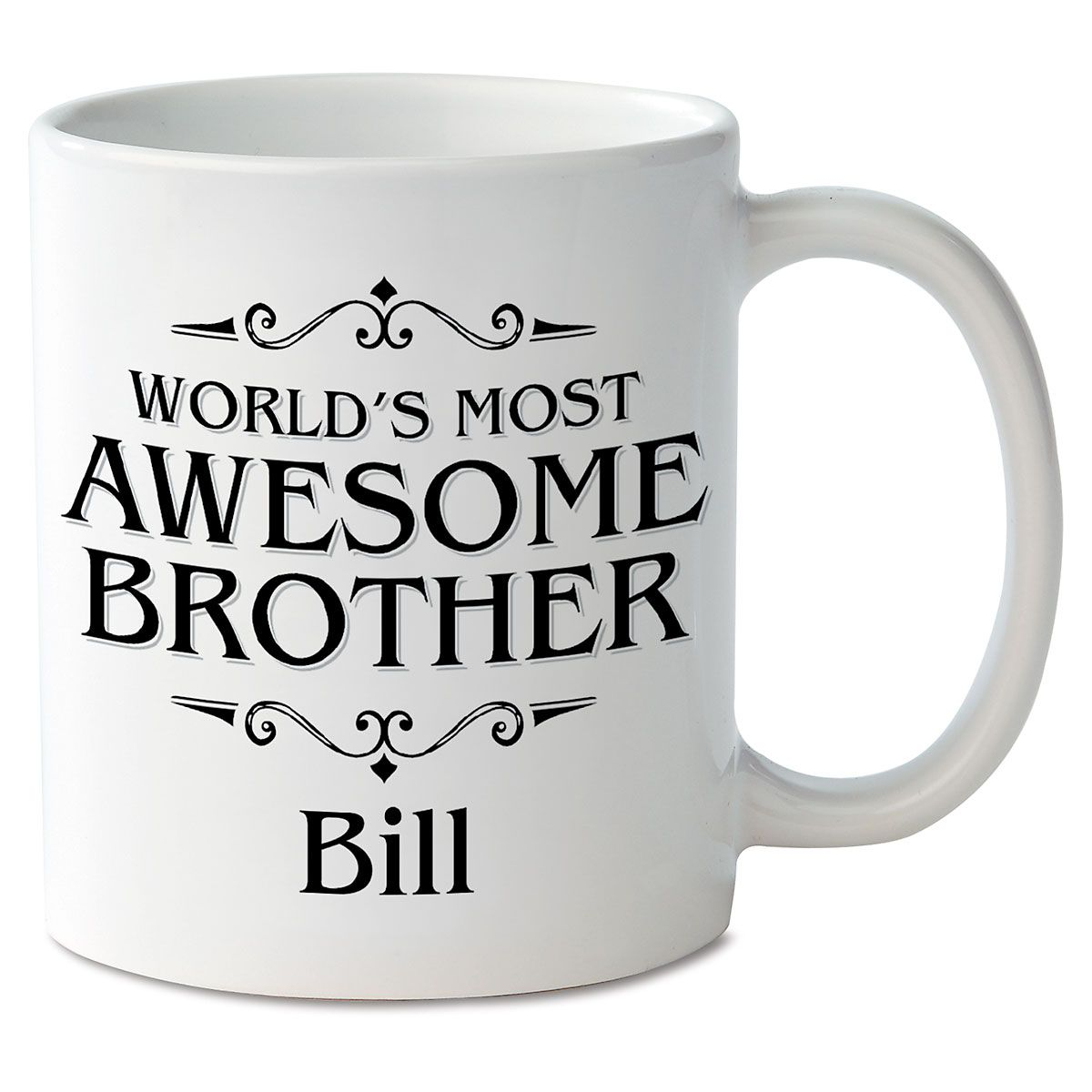 World's Most Awesome Brother Mug