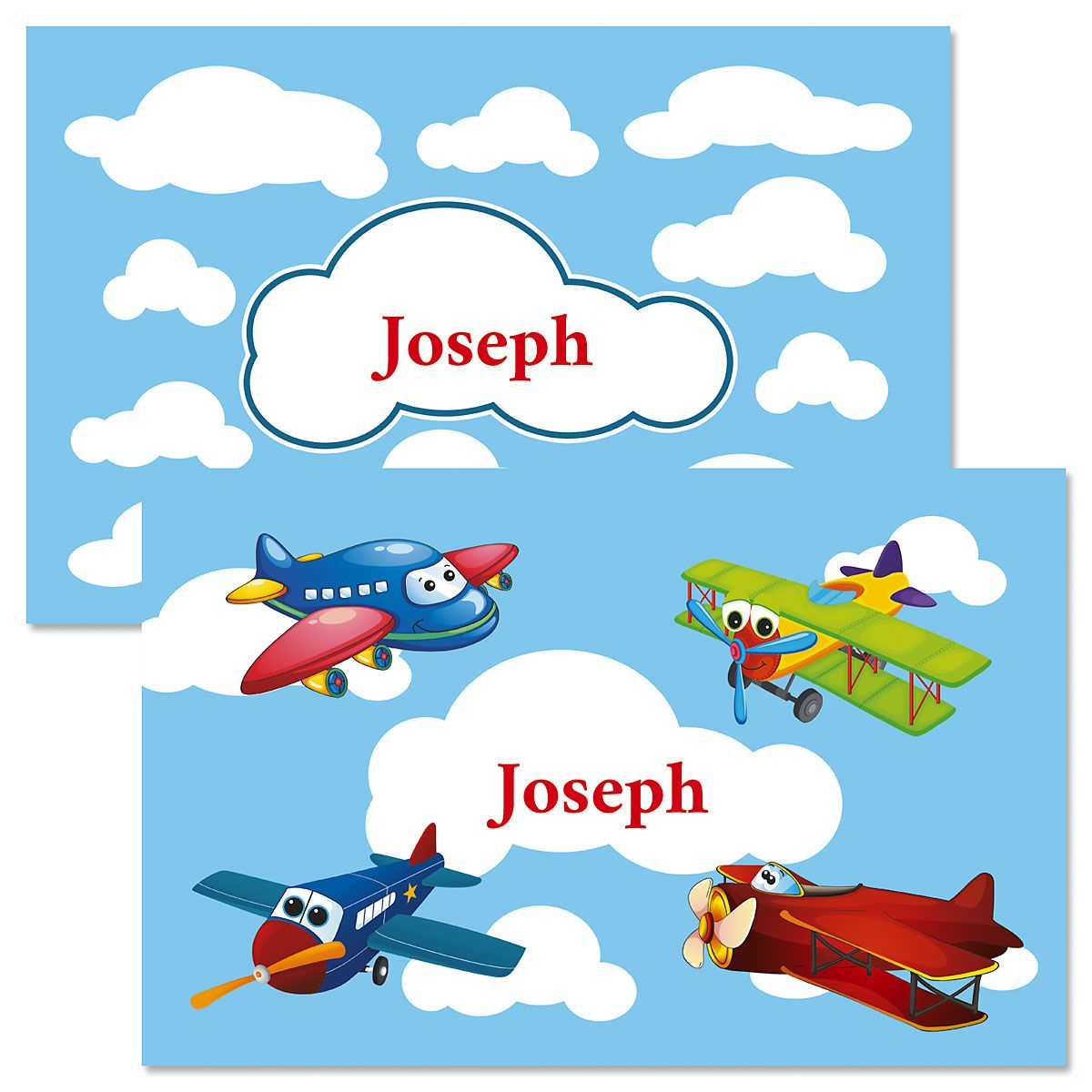 Airplanes Personalized Kids' Placemat