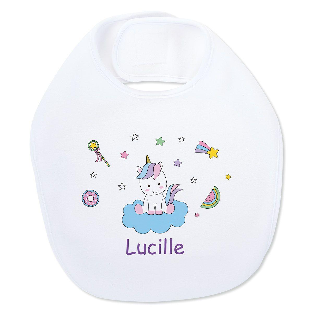 Baby Magical Unicorn Bib