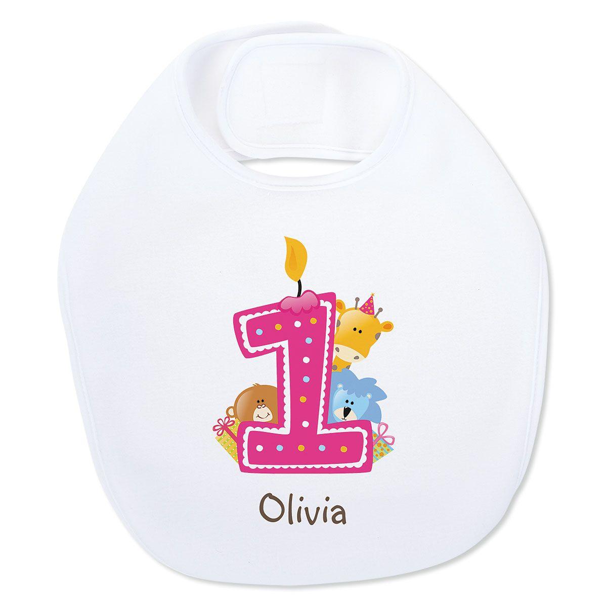 Baby's 1st Birthday Bib