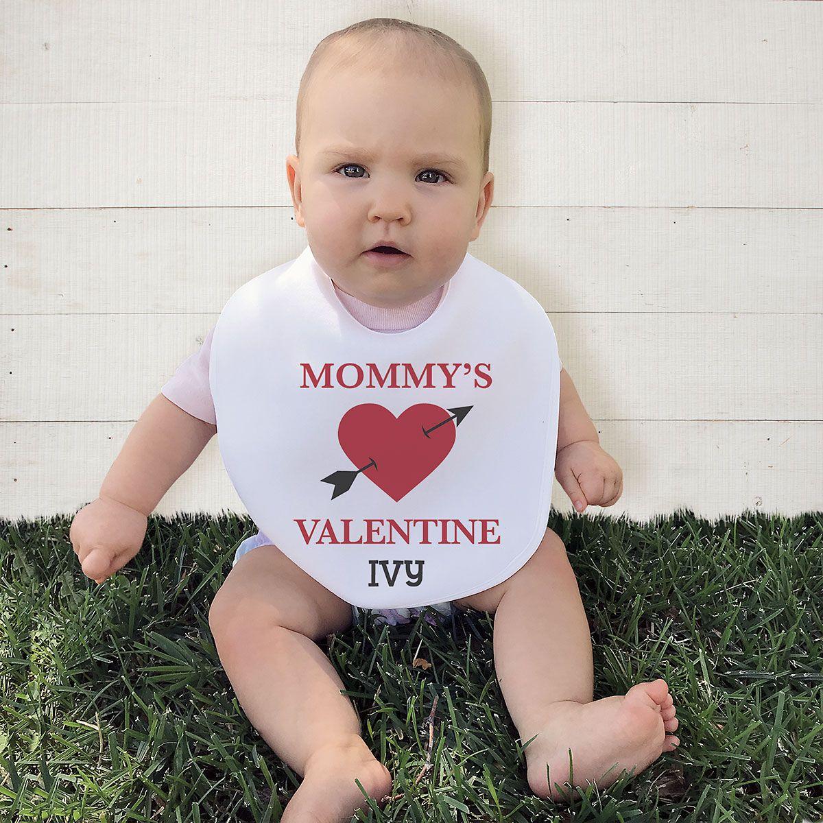 Baby's Valentines Day Bib