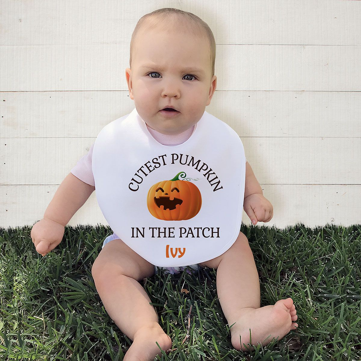 Baby's Halloween Bib
