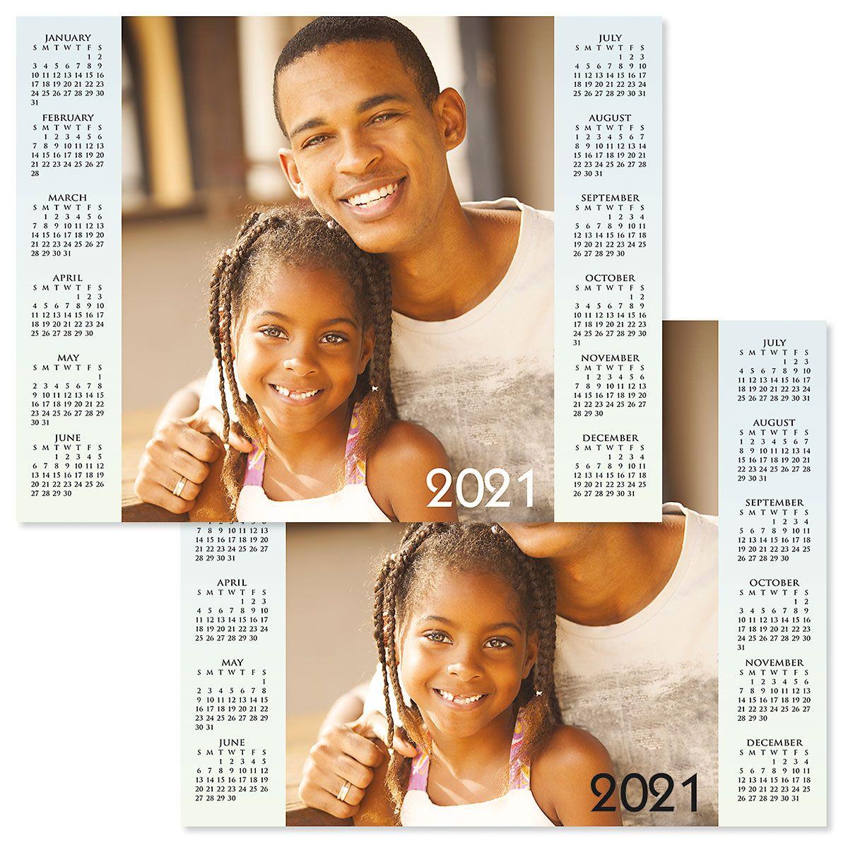 2021 Year at a Glance Photo Calendar
