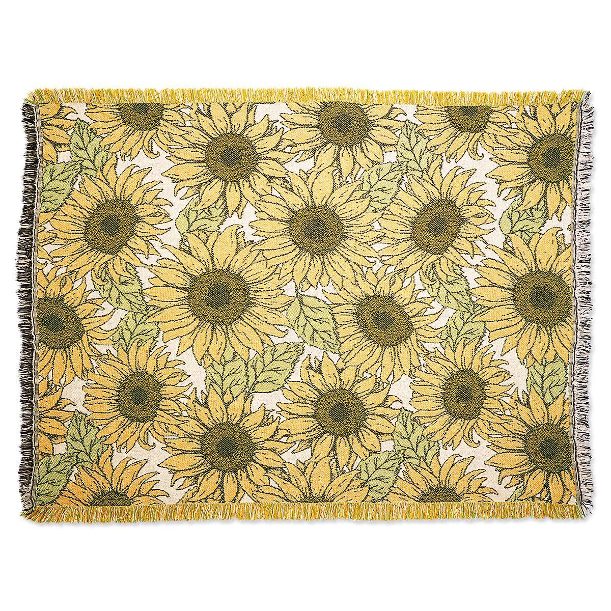 Sunflower Throw