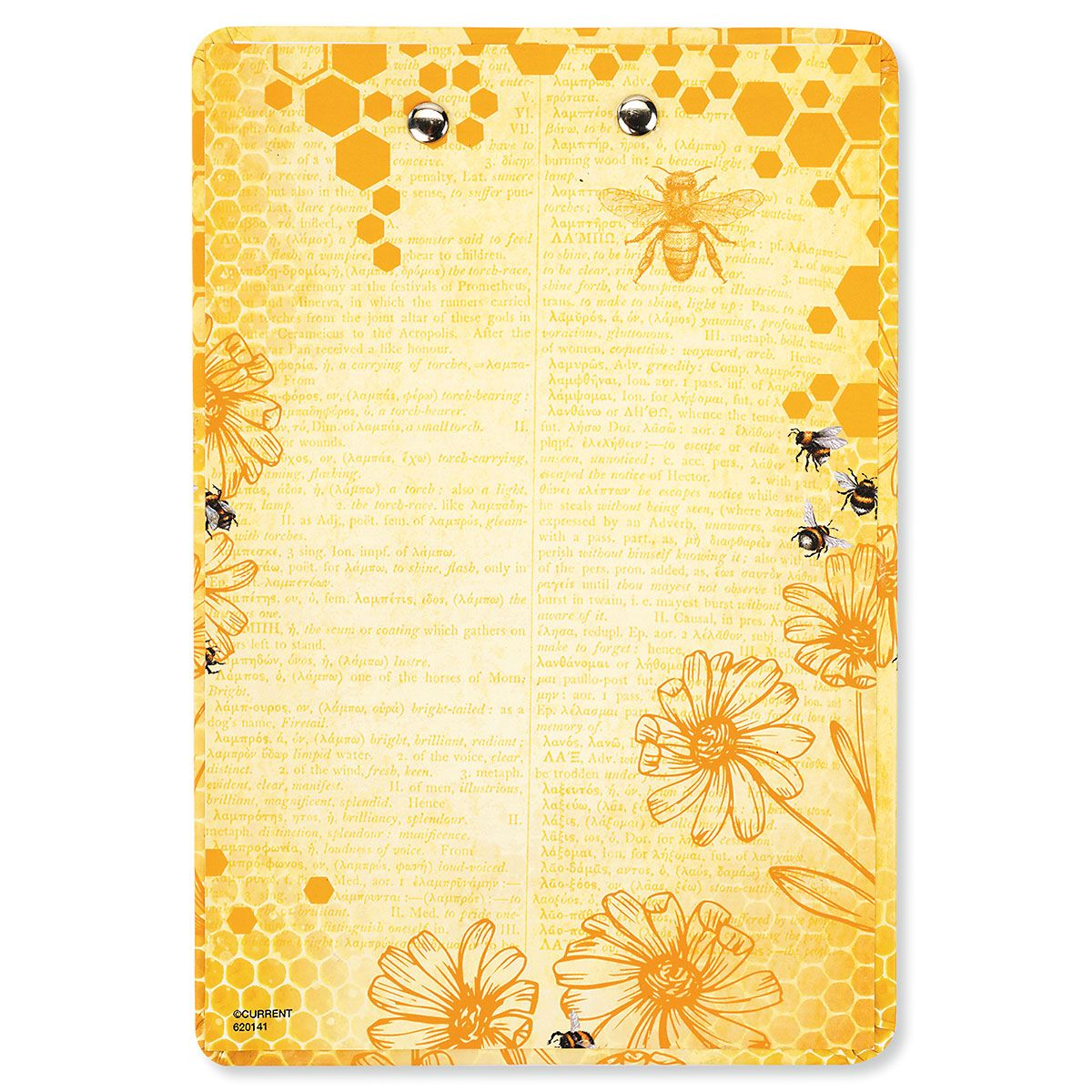 Notepad & Clipboard Bee/Yellow Gift - BOGO