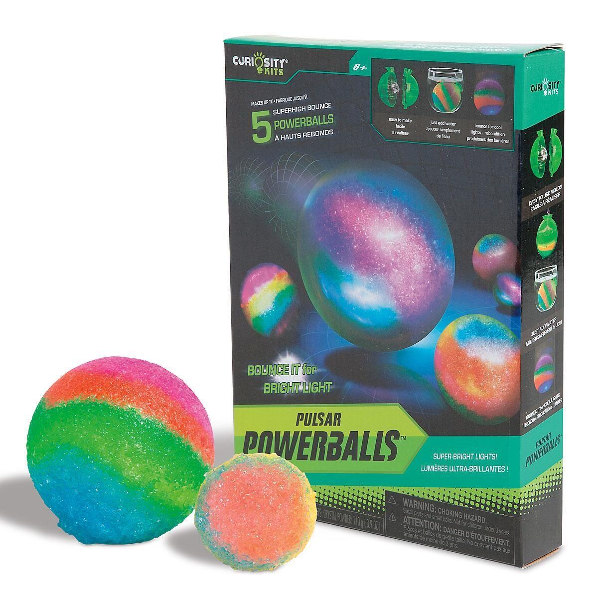 Curiosity Kits® Pulsar Powerballs®