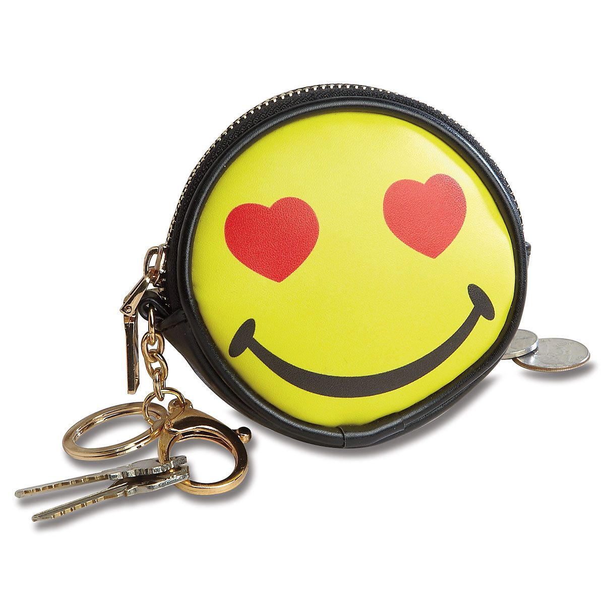 Happy Face Coin Purse