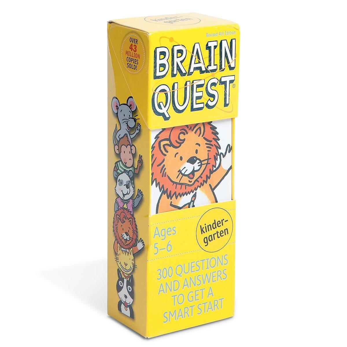 Kindergarten Brain Quest Game