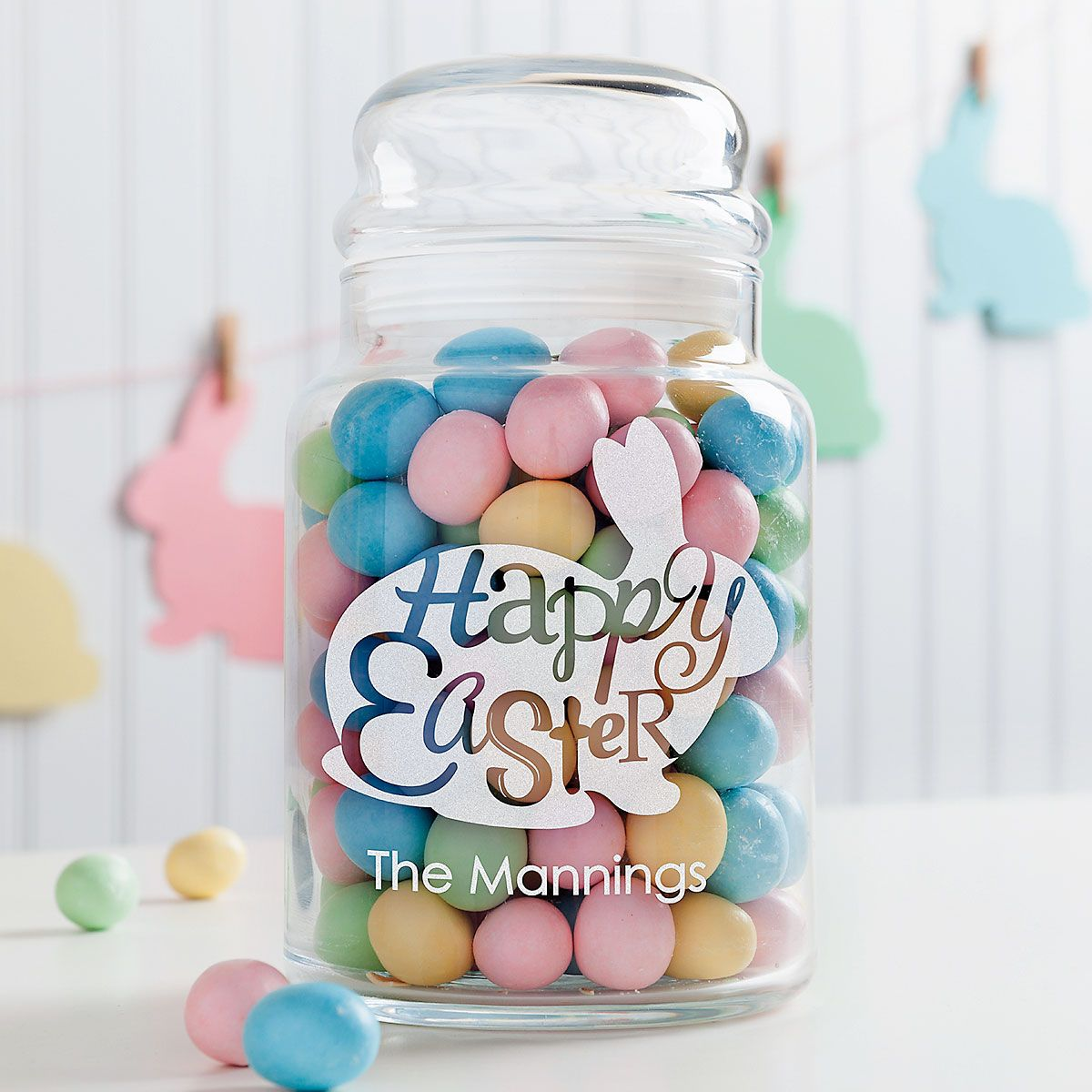 Personalized Easter Treat Jar