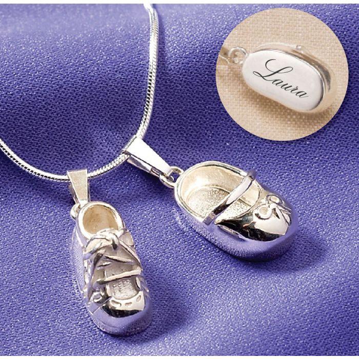 Sterling Silver Sneaker Charm