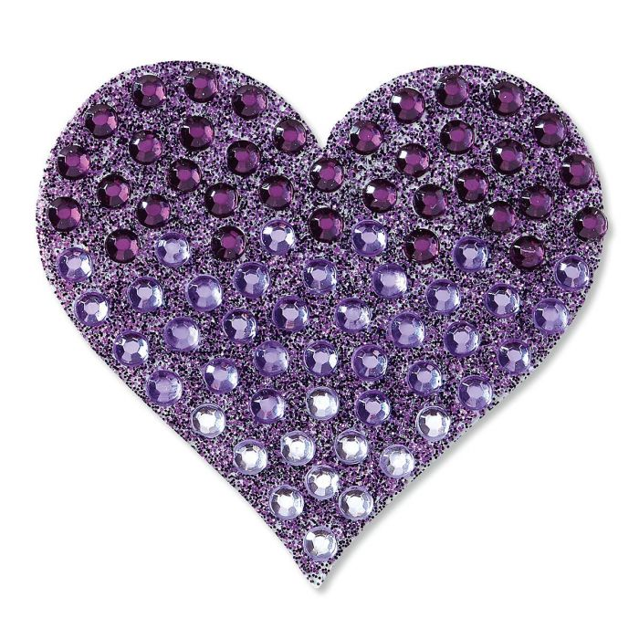 Purple Ombre Heart StickerBean™