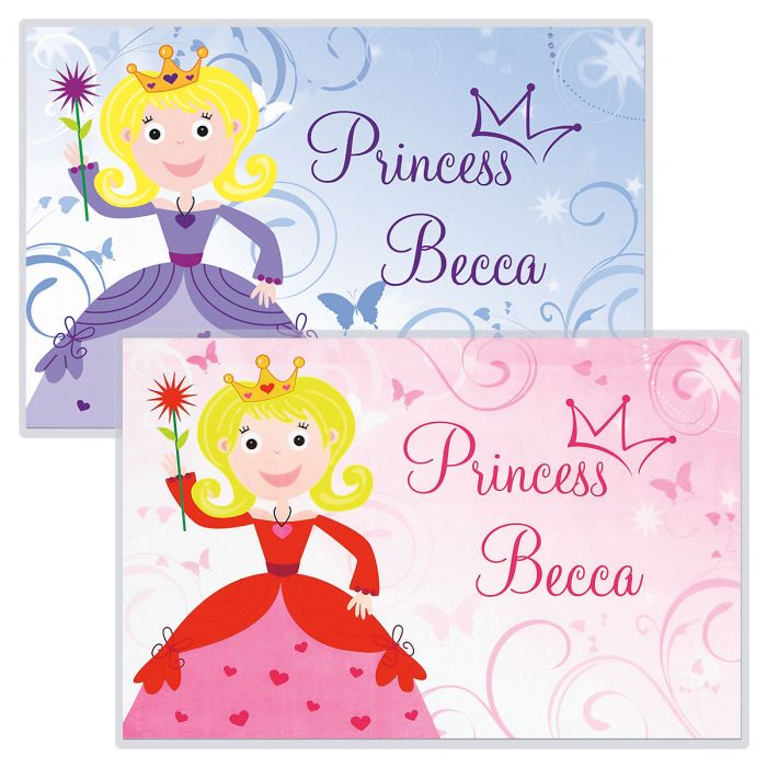 princess kids placemats lillian vernon