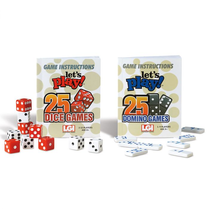 Dice And Dominoes Games Lillian Vernon