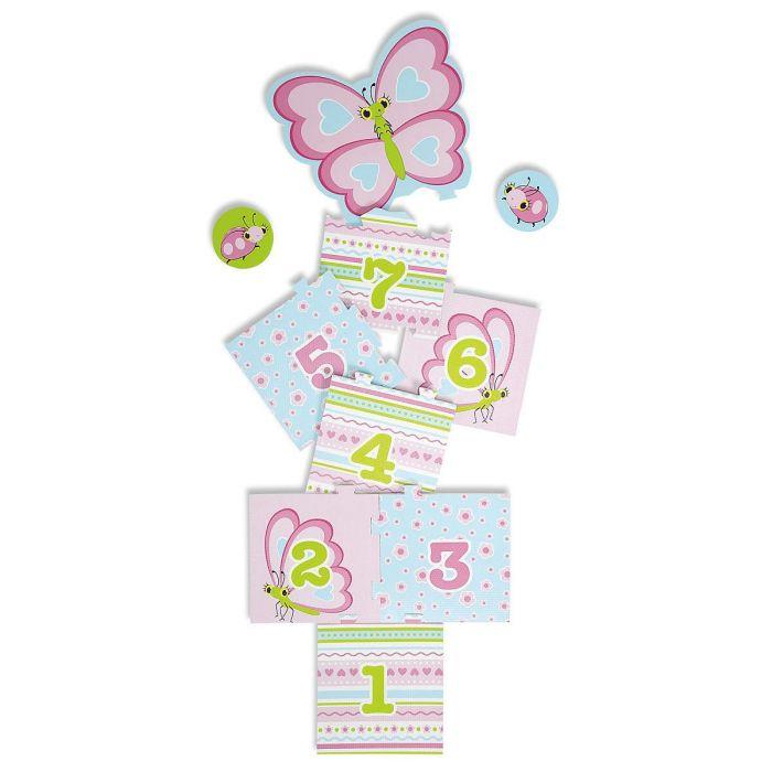 Cutie Pie Butterfly Hopscotch