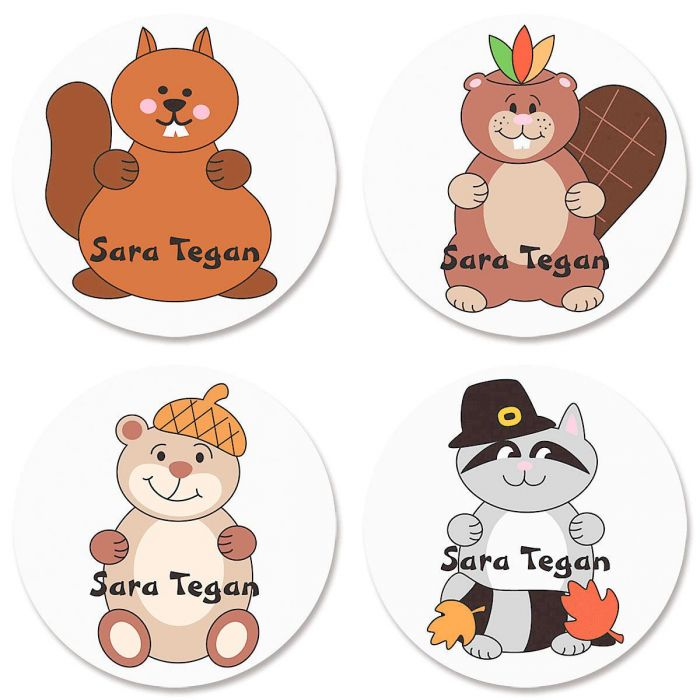 Personalized Fall Stickers