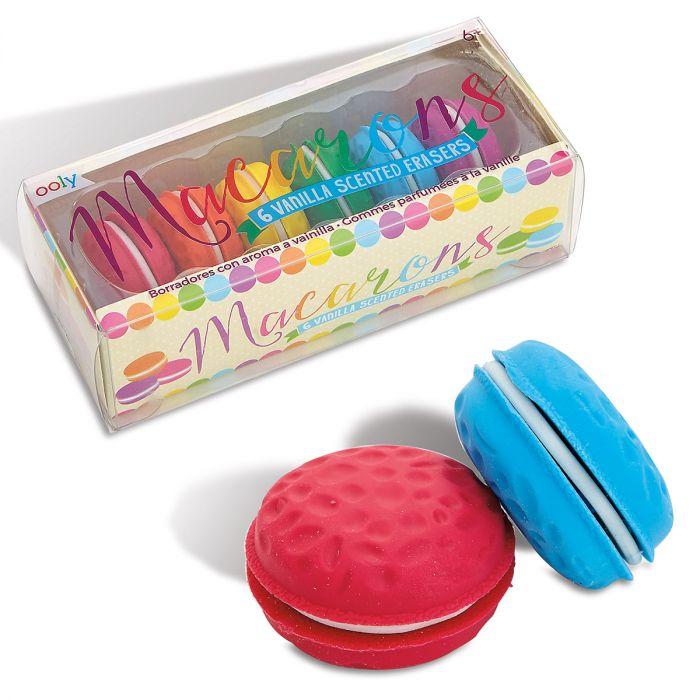 Vanilla-Scented Macaron Erasers