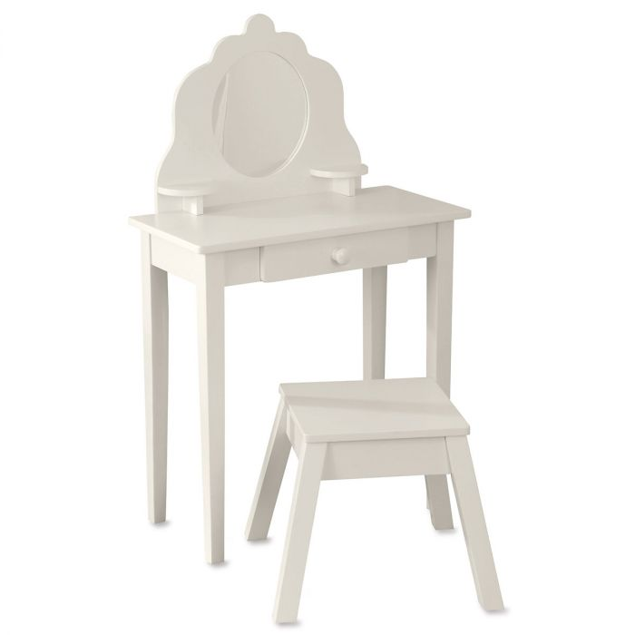 Diva Vanity Table & Stool by Kidkraft