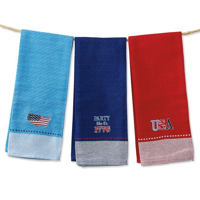 Patriotic Kitchen Towels