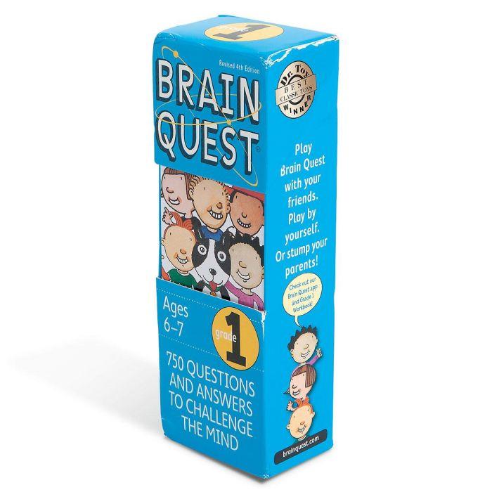1st Grade Brain Quest Game