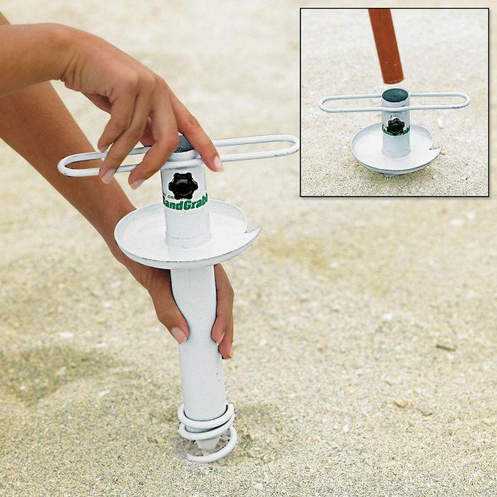 Sand Grabber for Umbrellas