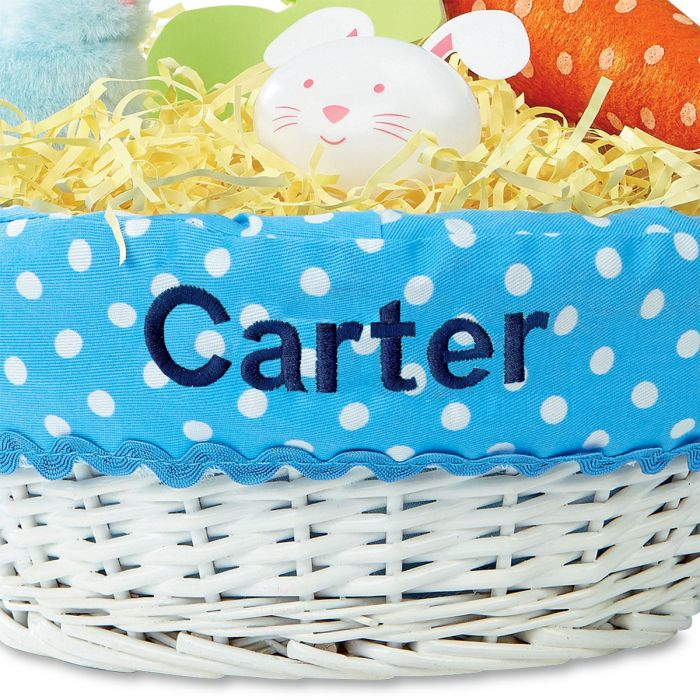 Easter Basket with Liners-Blue-2L437B