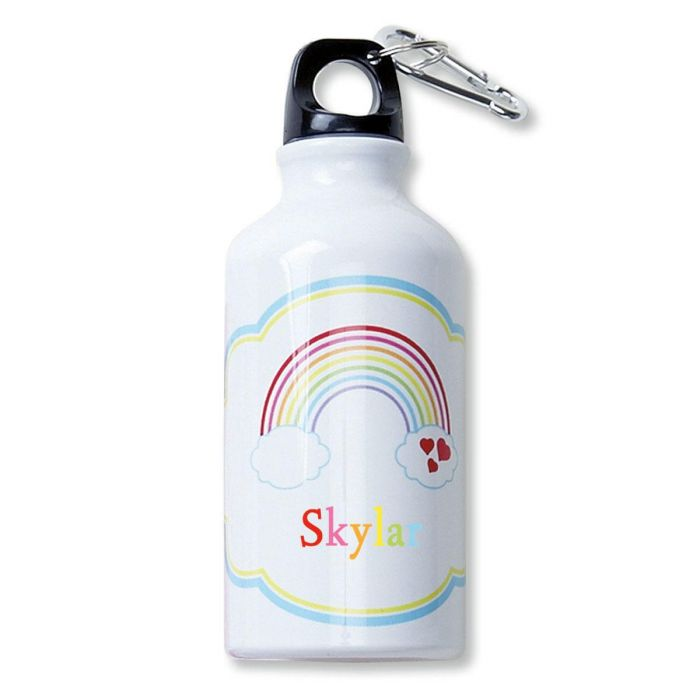 Rainbow Water Bottle by Designer Maureen Anders