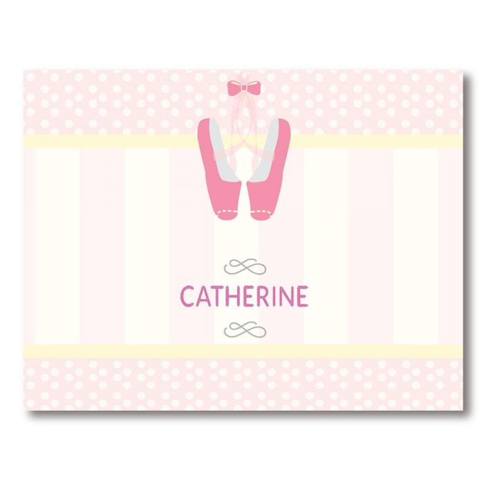 Ballerina Note Cards by Designer Maureen Anders