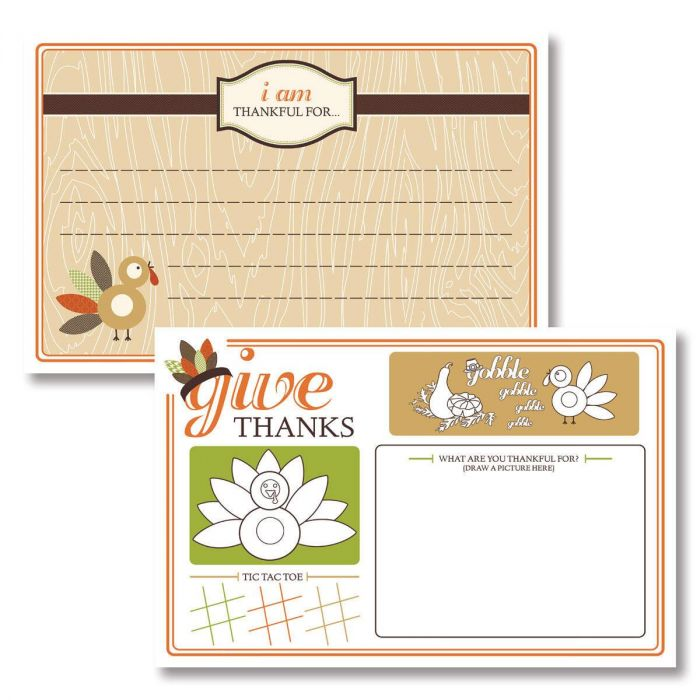 Give Thanks Placemat by Maureen Anders