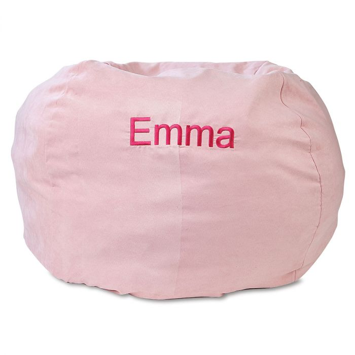 Exceptionnel Pink Personalized Bean Bag Chair ...