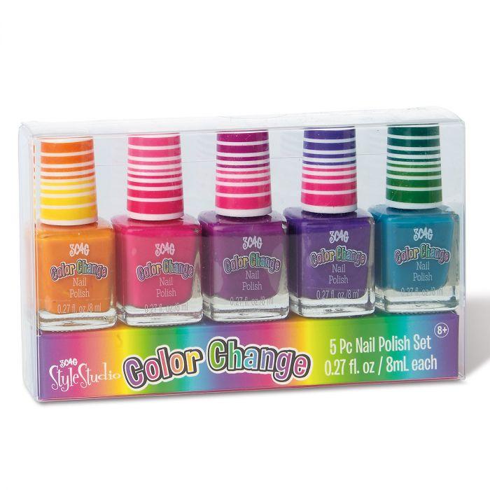 Color Changing Style Studio Nail Polish Set