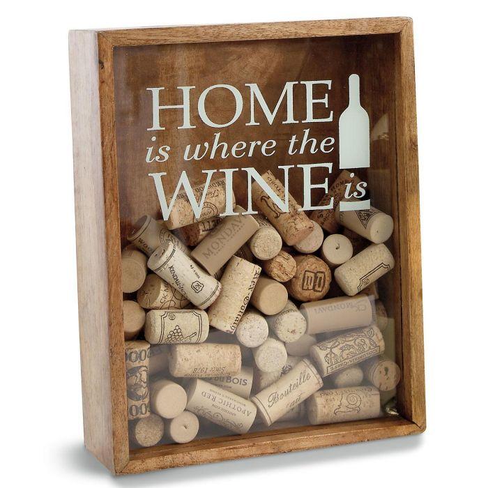 Wine Cork Display Box by Mud Pie