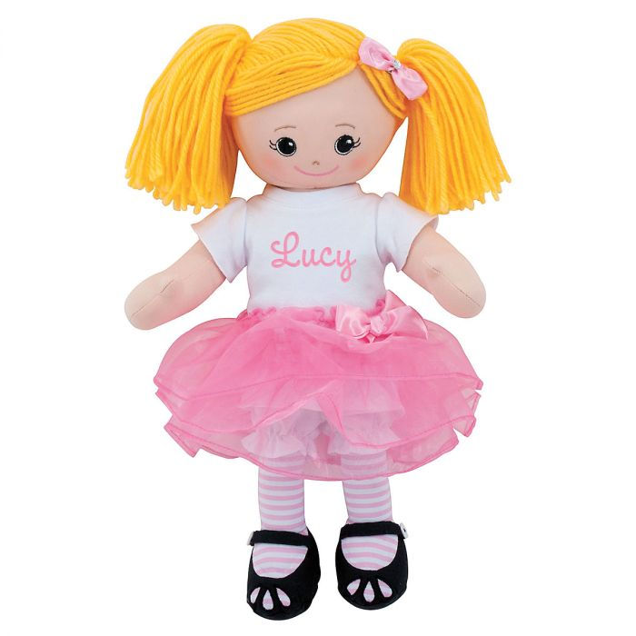 Blonde Ballerina Personalized Doll