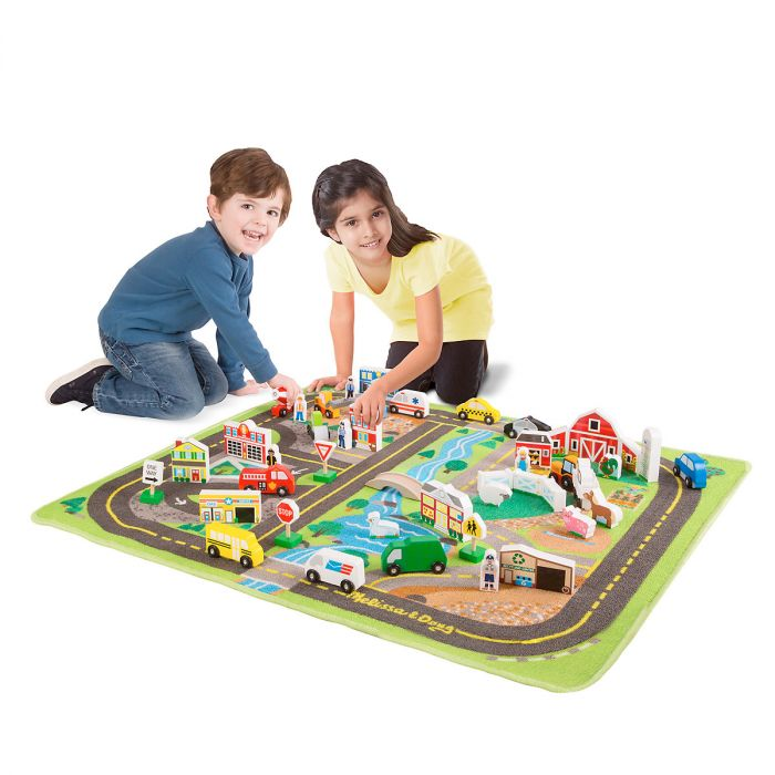 Deluxe Road Play Set by Melissa & Doug®
