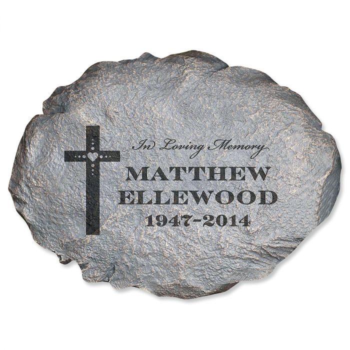 In Loving Memory Personalized Garden Stone
