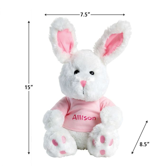 Bunny with Pink T-Shirt