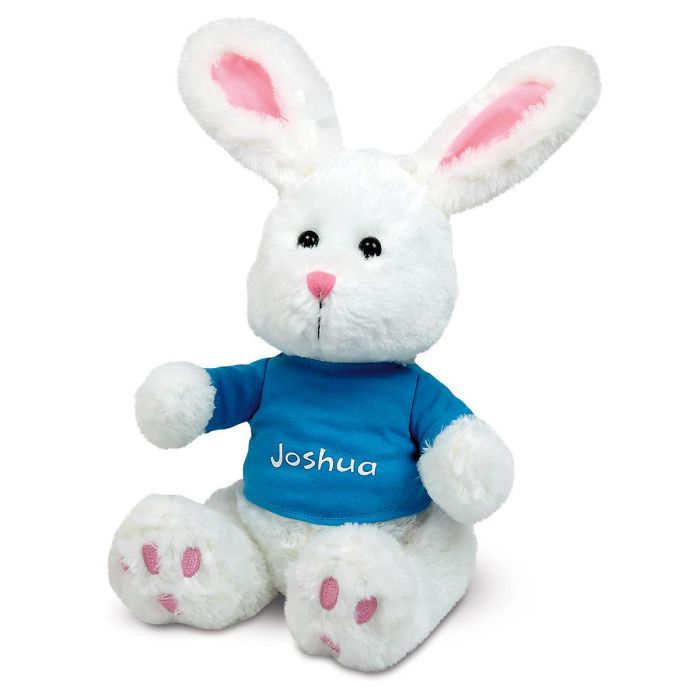 Bunny with Blue T-Shirt