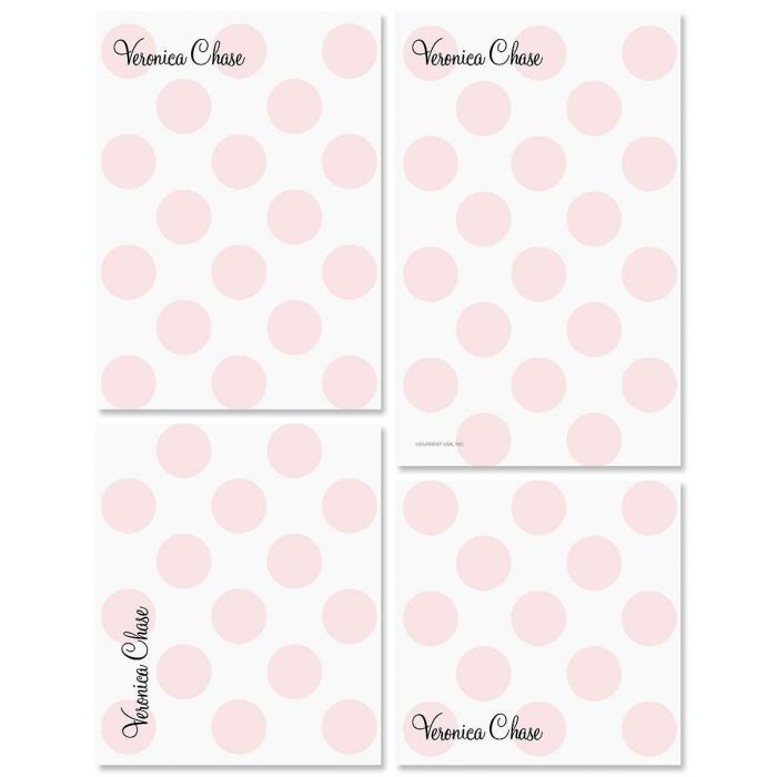 Pink Dots Notepads