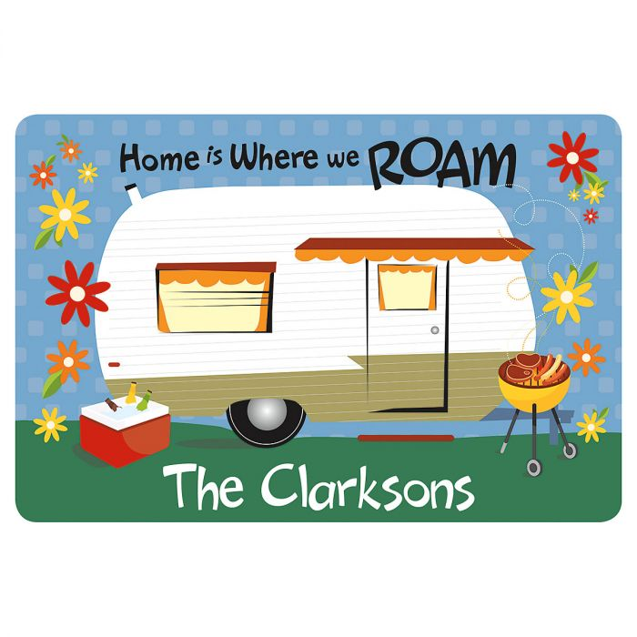 Personalized RV Welcome Mat