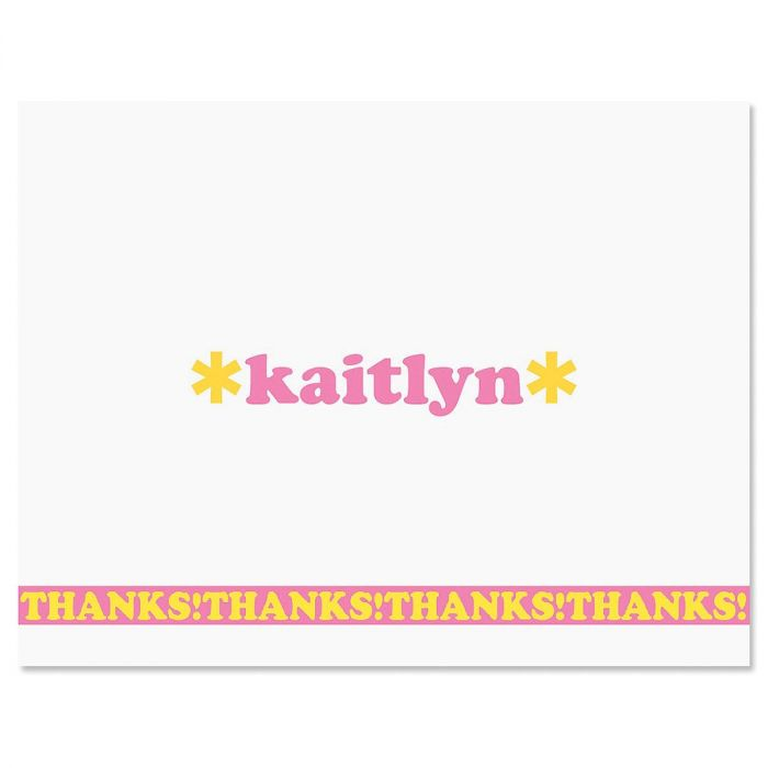 Playful Thank You Cards
