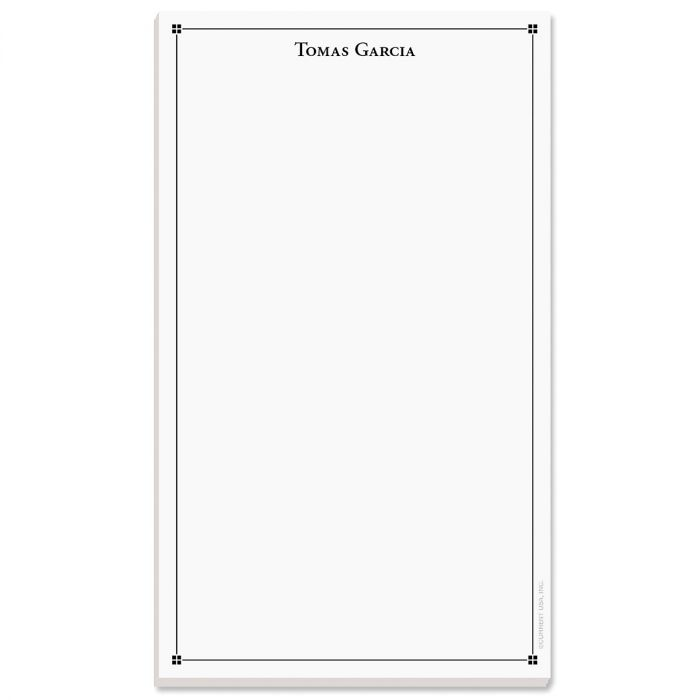 Atticus Notepad-Black-609314A