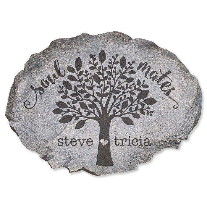 Soulmates Personalized Garden Stone
