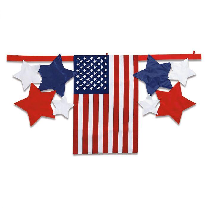 Flag & Stars Bunting