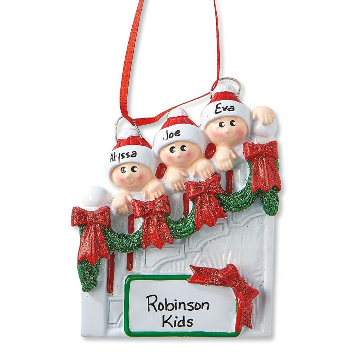Personalized Staircase Christmas Ornament