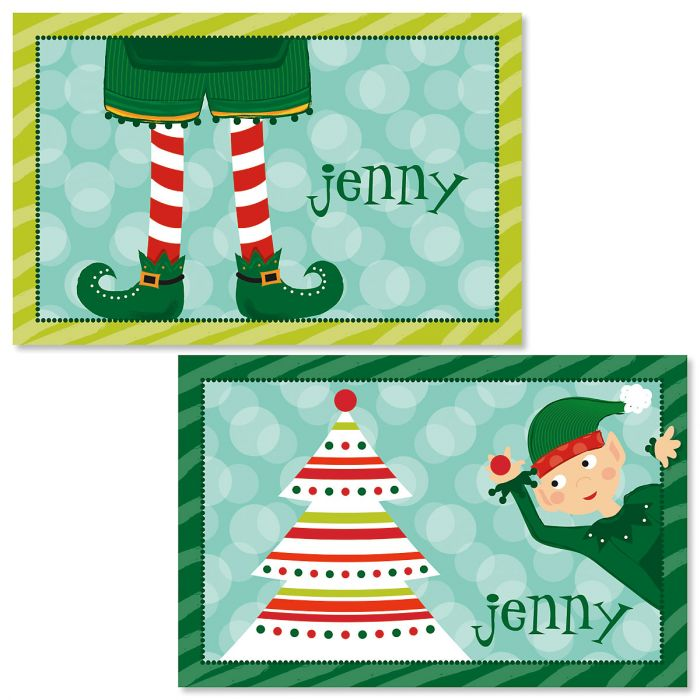 Personalized Elf Kids' Placemat